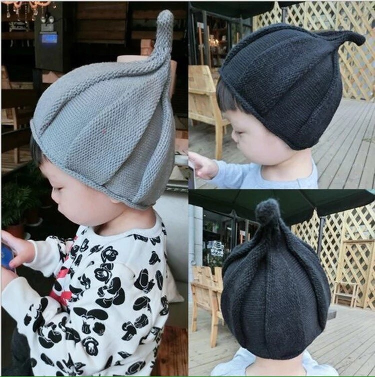 หมวกเด็กทรงจุก
