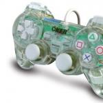 จอยเกมส์ joystick PS2 oker ใสขาว