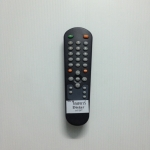 รีโมททีวีไดสตาร์จีน จอแบน Distar จีนดำ 5 ปุ่มล่าง