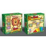 สติ้กเกอร์โมเสค ลายสัตว์ (sticky mosaics zoo animals)
