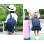 กระเป๋าเป้ พับเก็บได้ สำหรับใส่่ของเดินทางท่องเที่ยว