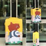 ผ้าคลุมกระเป๋าเดินทาง (Luggage Cover) รหัส 200