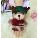 ถุงมือหน้าตุ๊กตาหมี น่ารัก