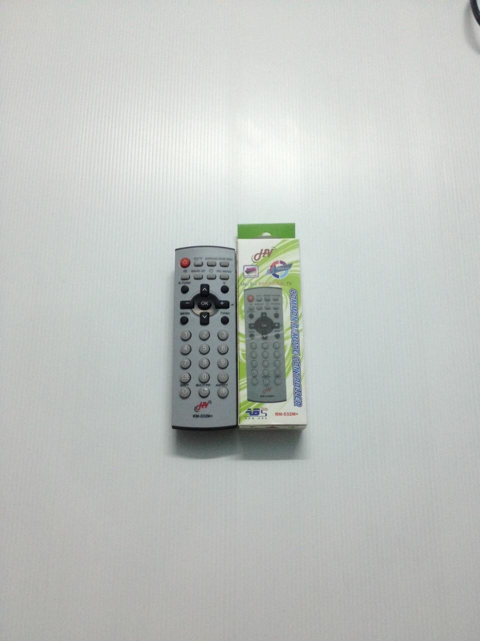รีโมทรวมทีวี Panasonic ใช้ได้กับทีวีพานาโซนิคได้ทุกรุ่น