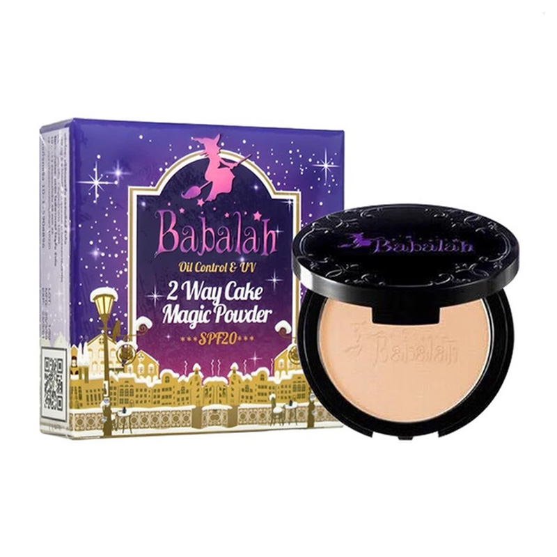Babalah Magic Powder Oil Control & UV 2 Way Cake #02