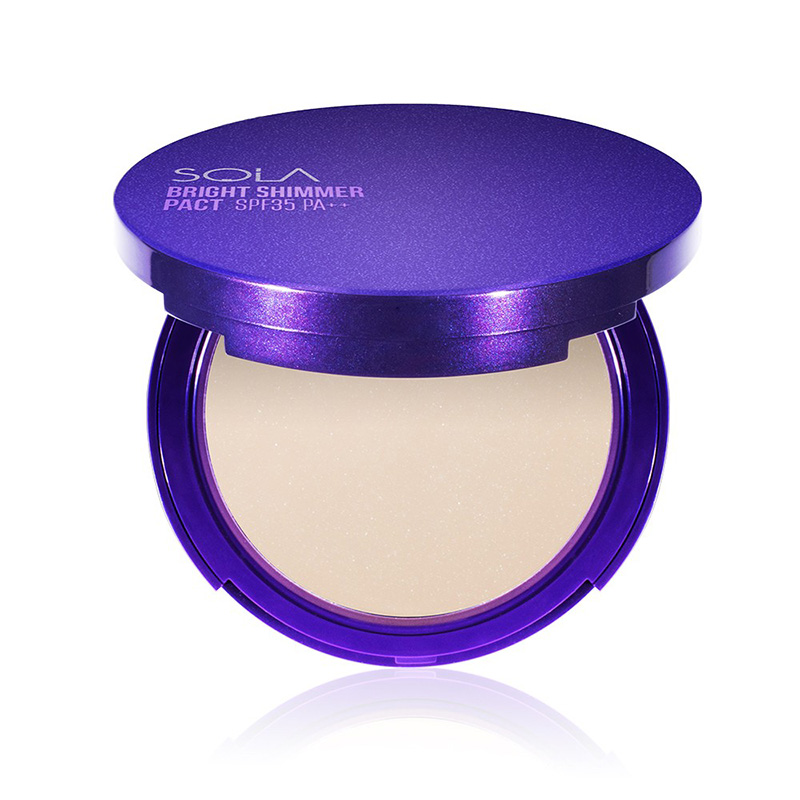 Sola Bright Shimmer Pact SPF35 PA++ 12g #2