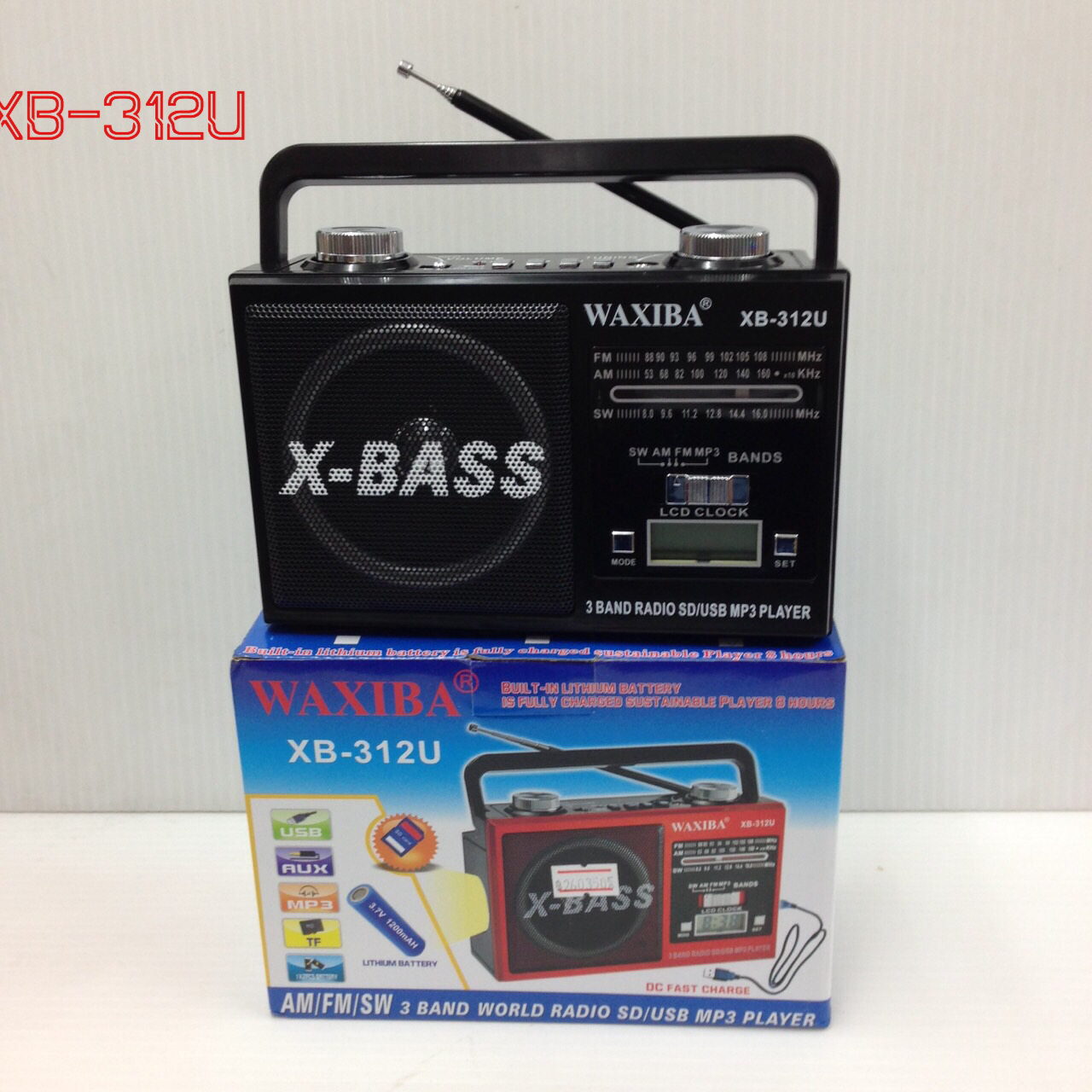 วิทยุ fm WAXIBA รุ่น XB-312U