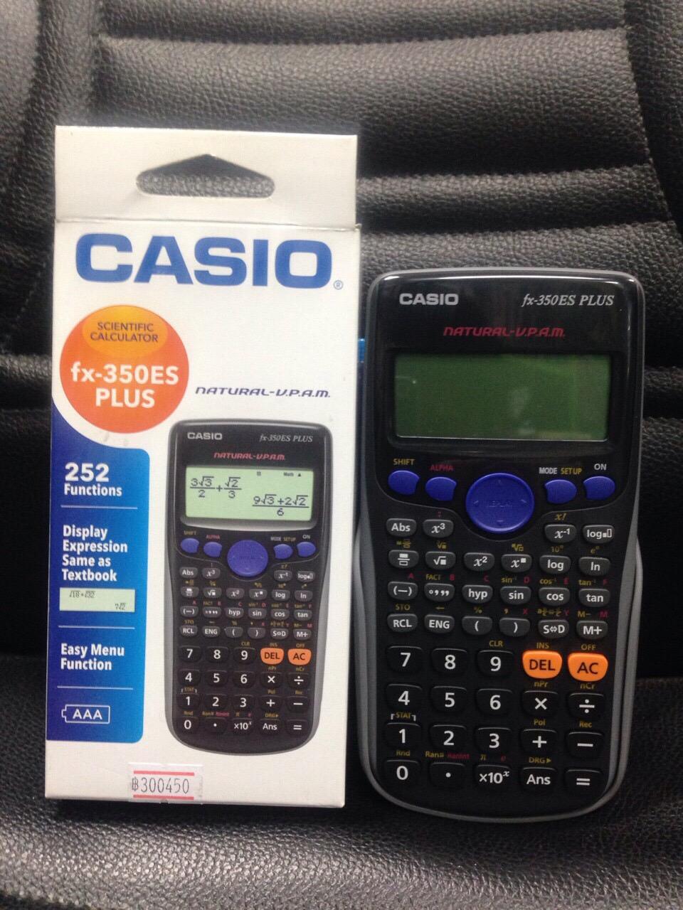 เครื่องคิดเลข Casio แท้ รุ่น FX-350ES