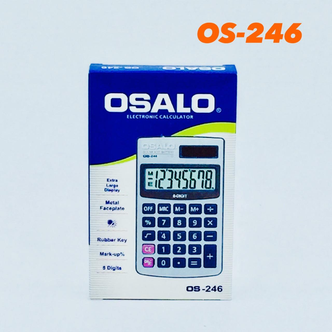 เครื่องคิดเลขจีน osalo รุ่น OS-246