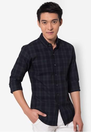 เสื้อเชิ้ตแขนยาว- Multi Tartan Long Sleeved
