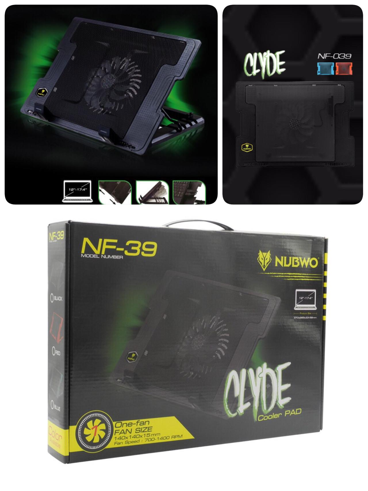 พัดลมโน๊ตบุ๊ค notebook nubwo NF-39