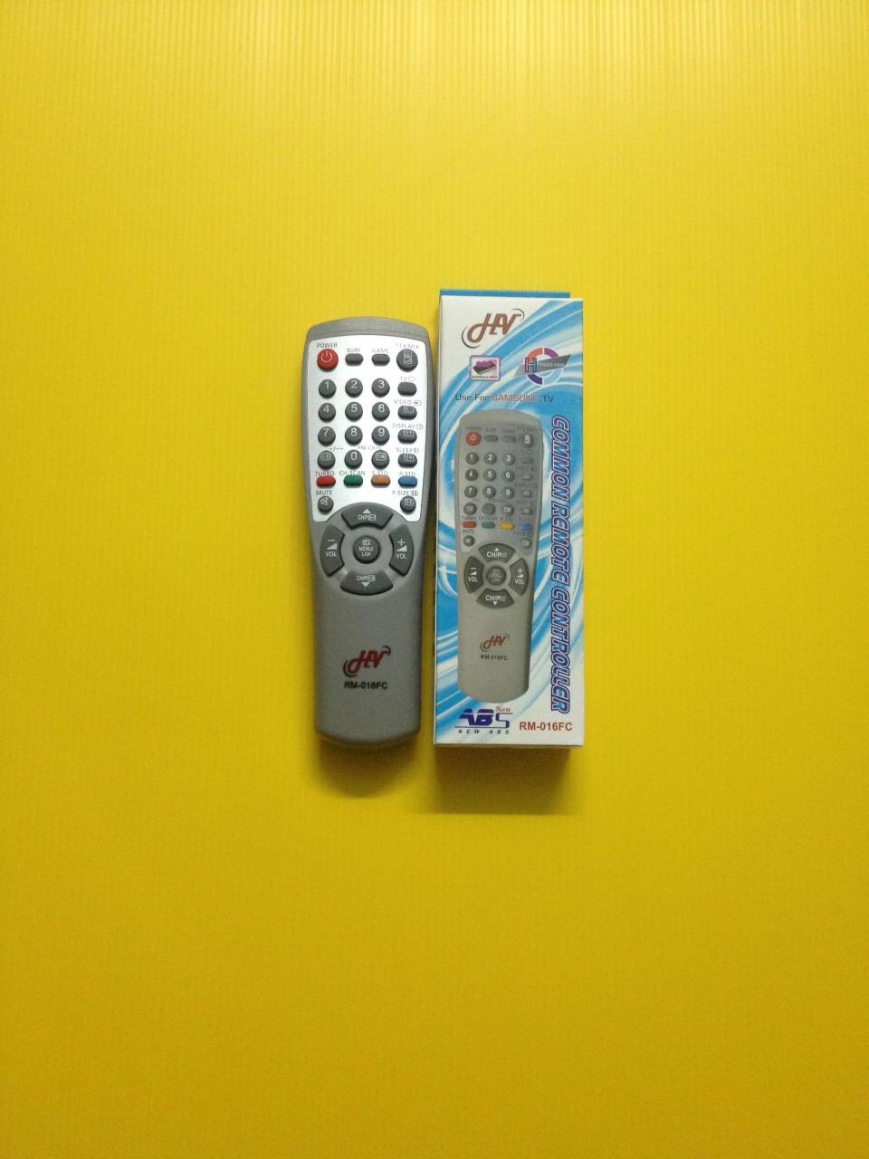 รีโมทรวมทีวี Samsung RM-016FC ใช้ได้กับทีวีซัมซุงได้ทุกรุ่น