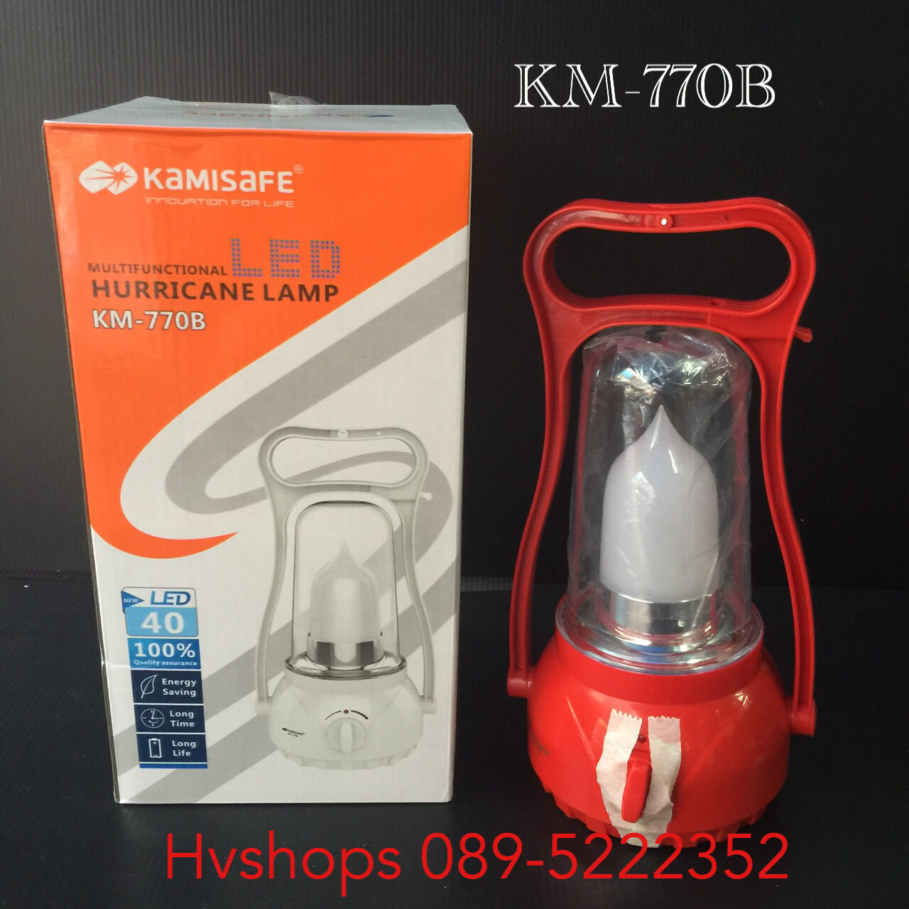 ตะเกียง LED Kamisafe KM-770B