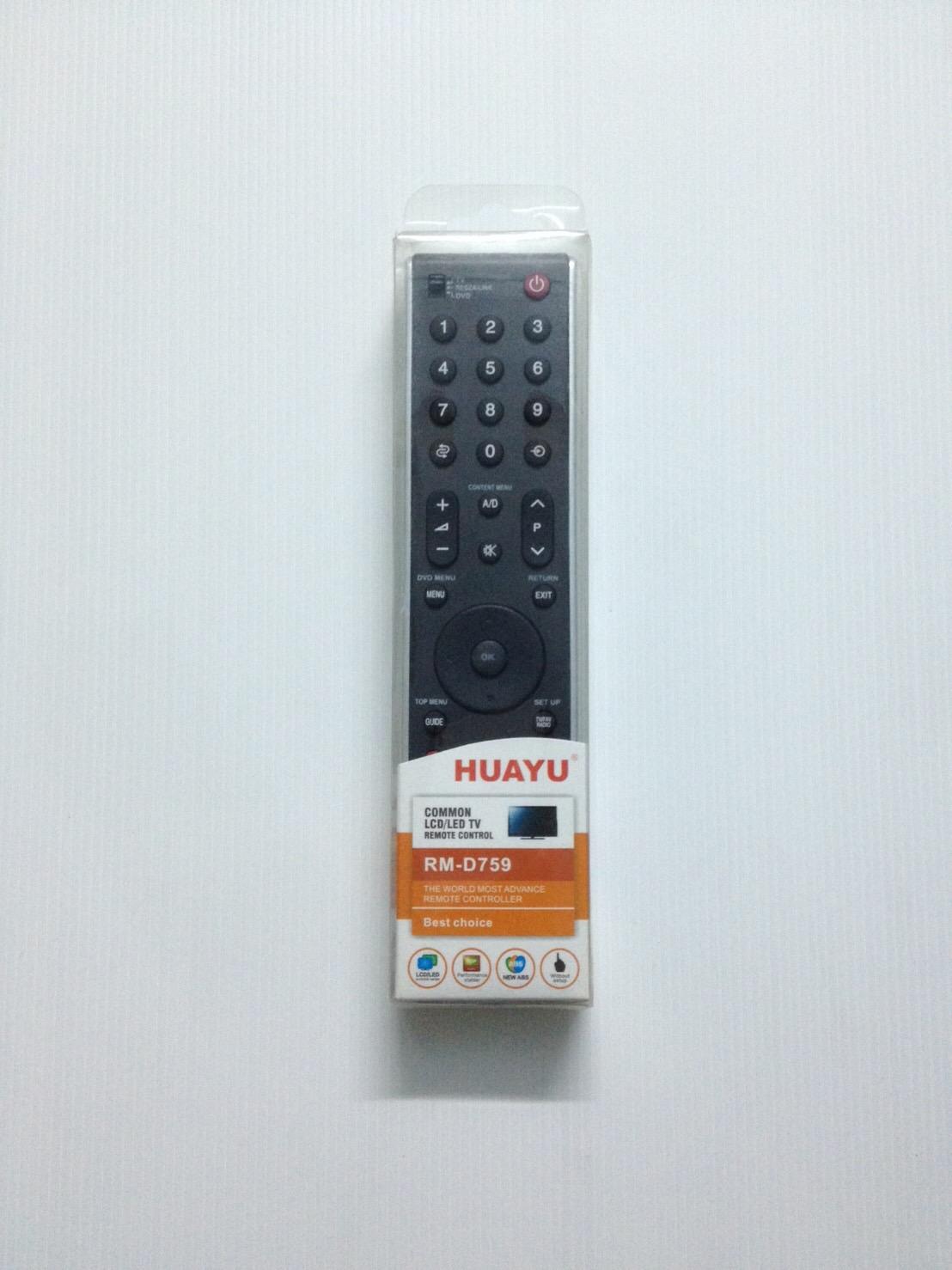 รีโมทรวม แอลซีดี แอลอีดี Toshiba Hauyu RM-D759