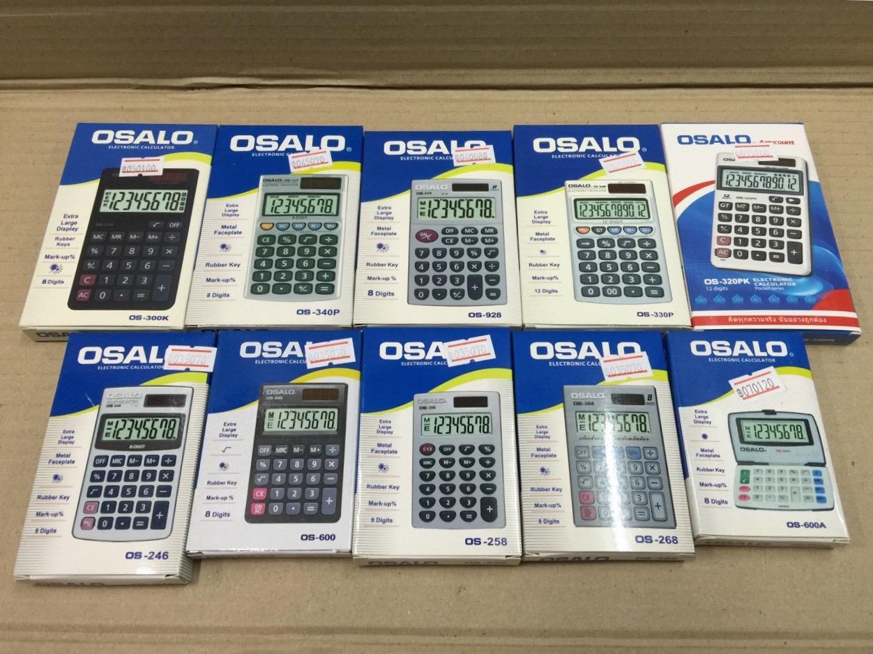 เครื่องคิดเลขจีน osalo รุ่น OS-300K