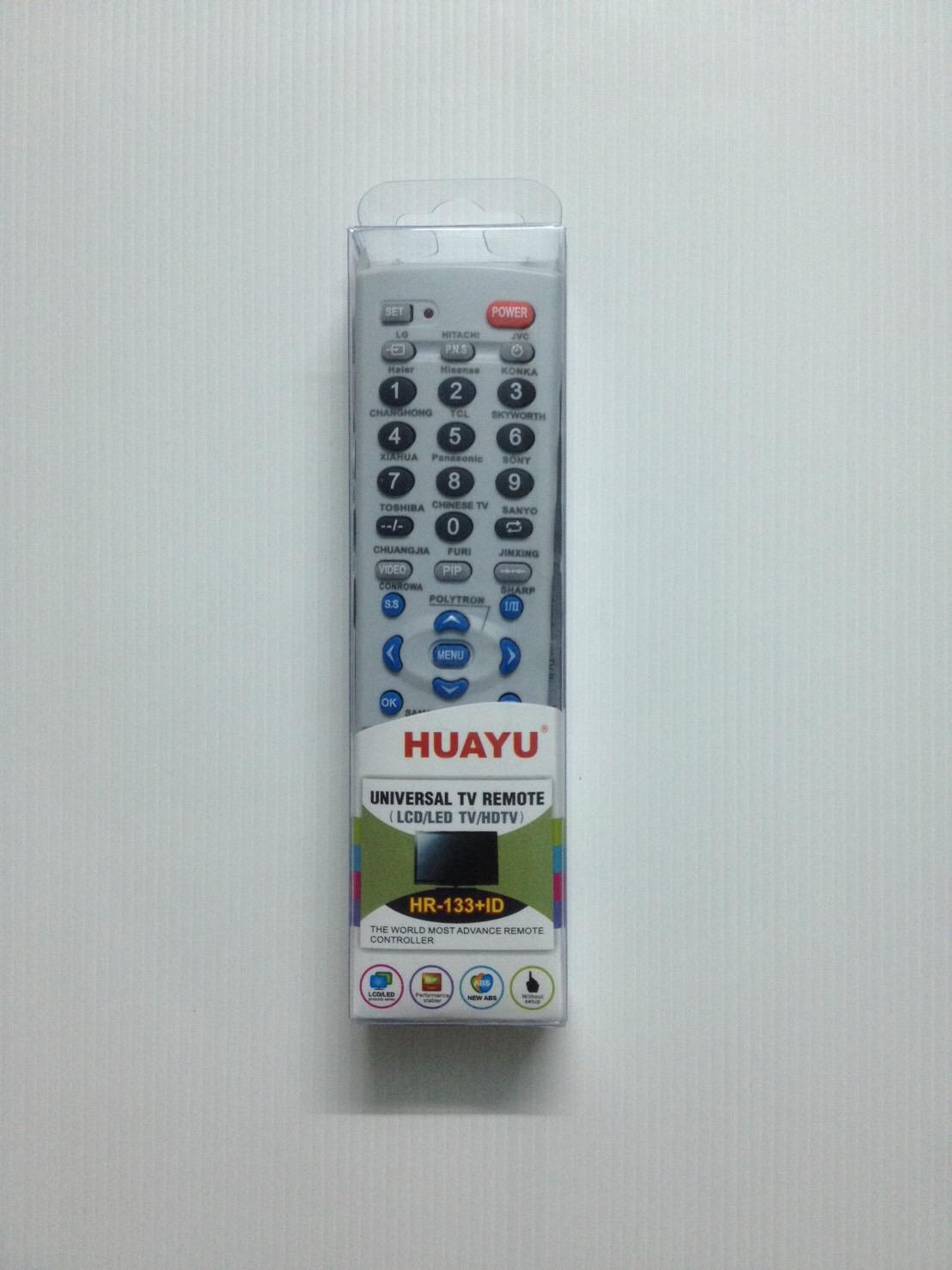 รีโมททีวีรวมรุ่น 133+ID ใช้ได้ทุกยี่ห้อราคา