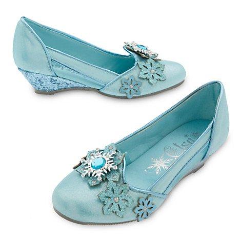 รองเท้าคัชชูเด็ก เอลซ่า Elsa Costume Shoes for Kids