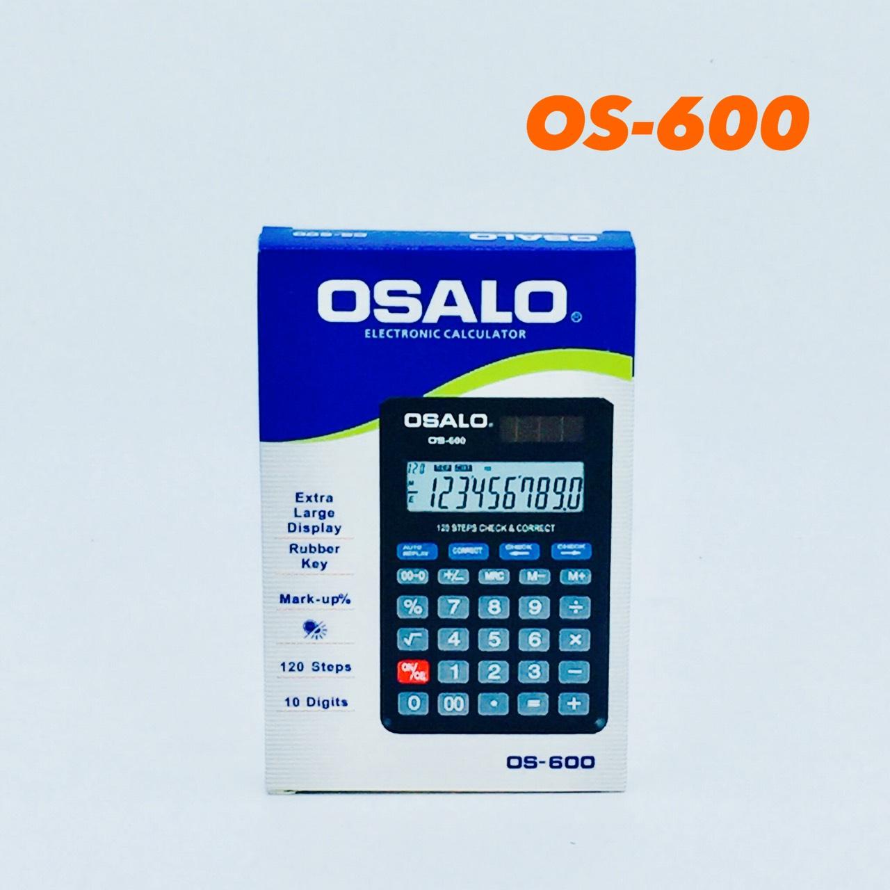 เครื่องคิดเลขจีน osalo รุ่น OS-600