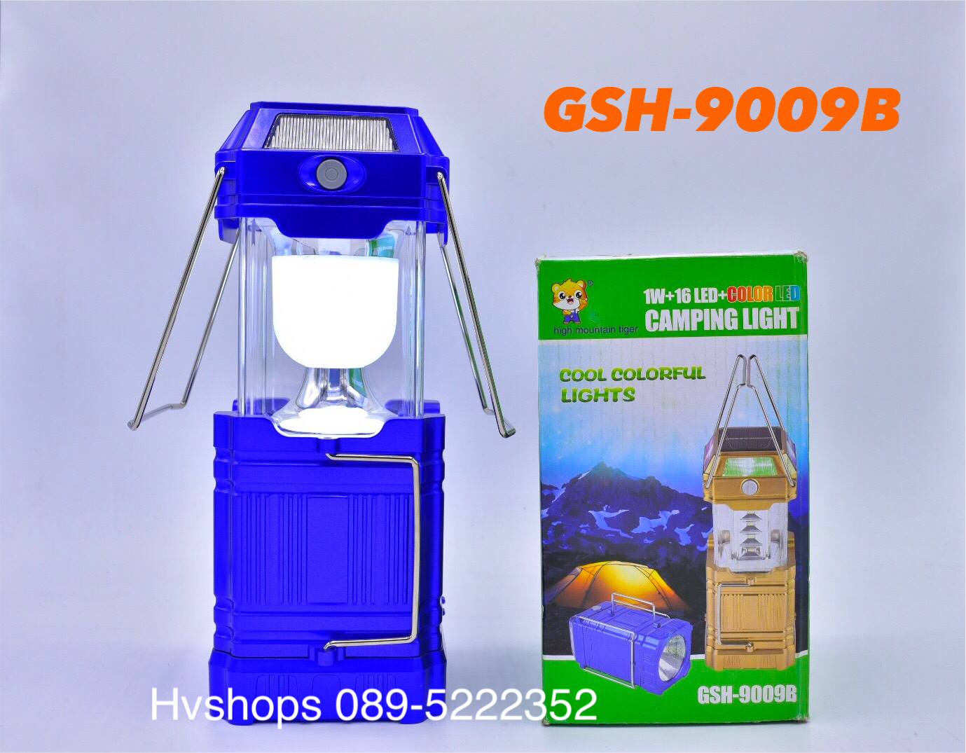 ตะเกียง LED รุ่น GSH-9009B