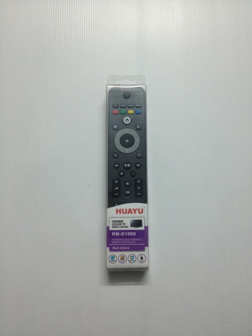 รีโมทรวมแอลซีดี LCD Philips HAUYU D-1000 ใช้ได้ทุกรุ่น