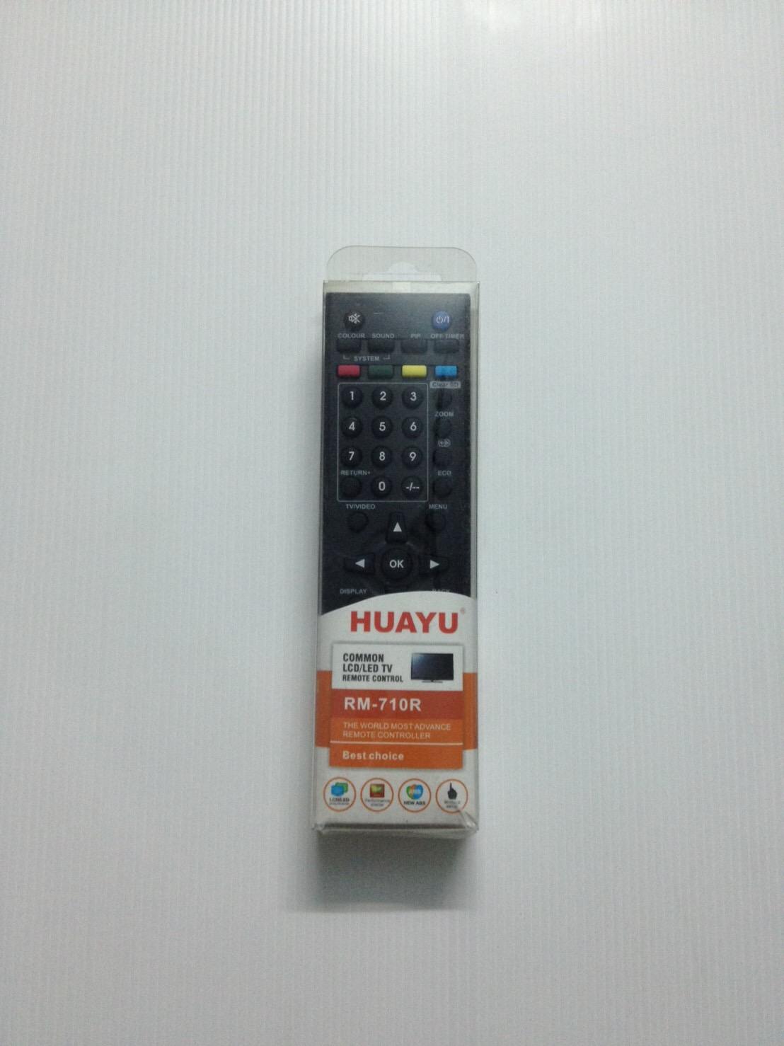 รีโมทรวมแอลซีดี LCD JVC HAUYU RM-710R ใช้ได้ทุกรุ่น