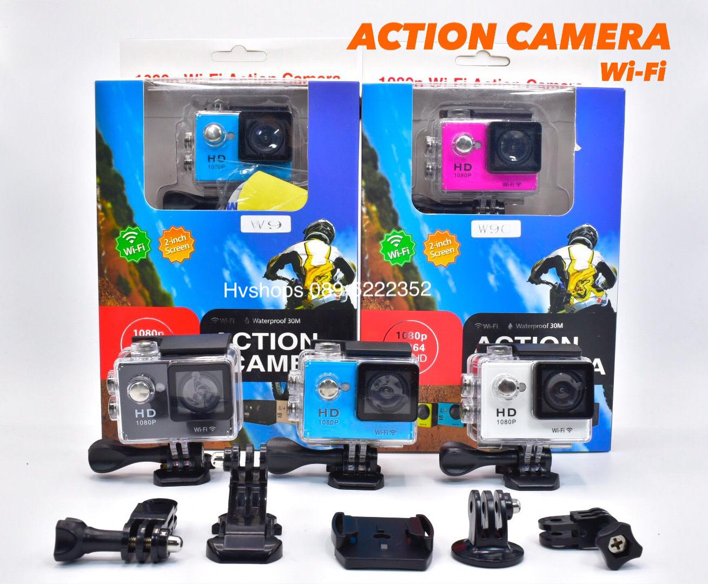 กล้องติดรถ Action Camera รุ่น W90 แบบ wifi