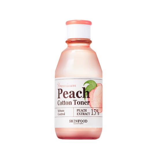 Skinfood Premium Peach Cotton Toner 175ml