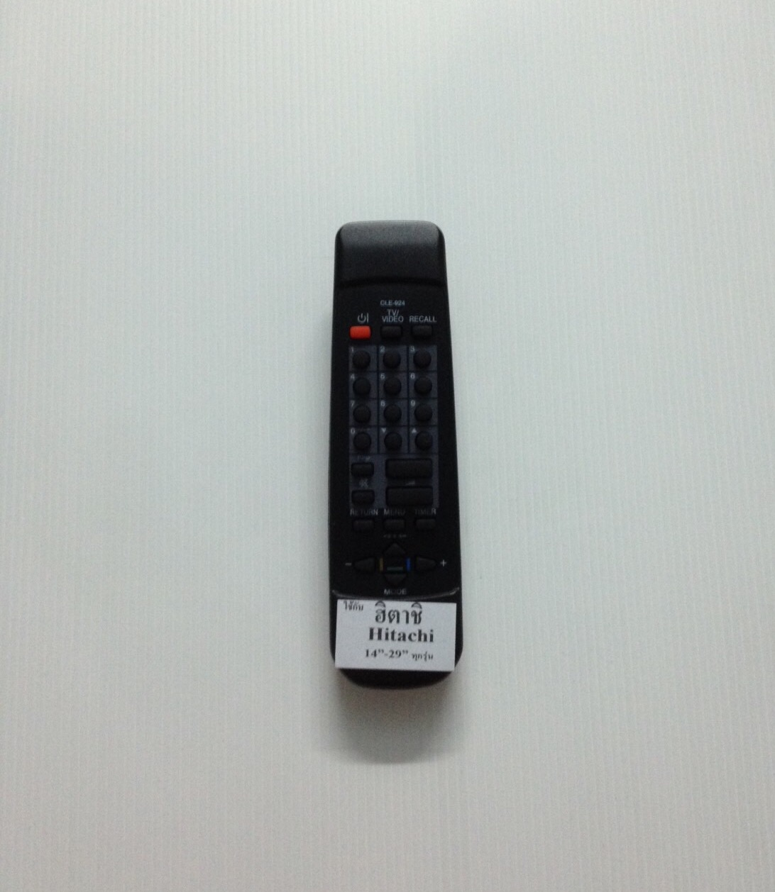 รีโมททีวีฮิตาชิ จอธรรมดา Hitachi CLE-924