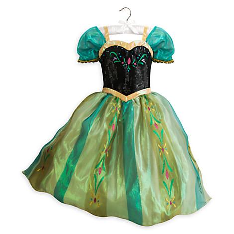 ชุดราตรีเจ้าหญิงแอนนา Anna Costume for Kids