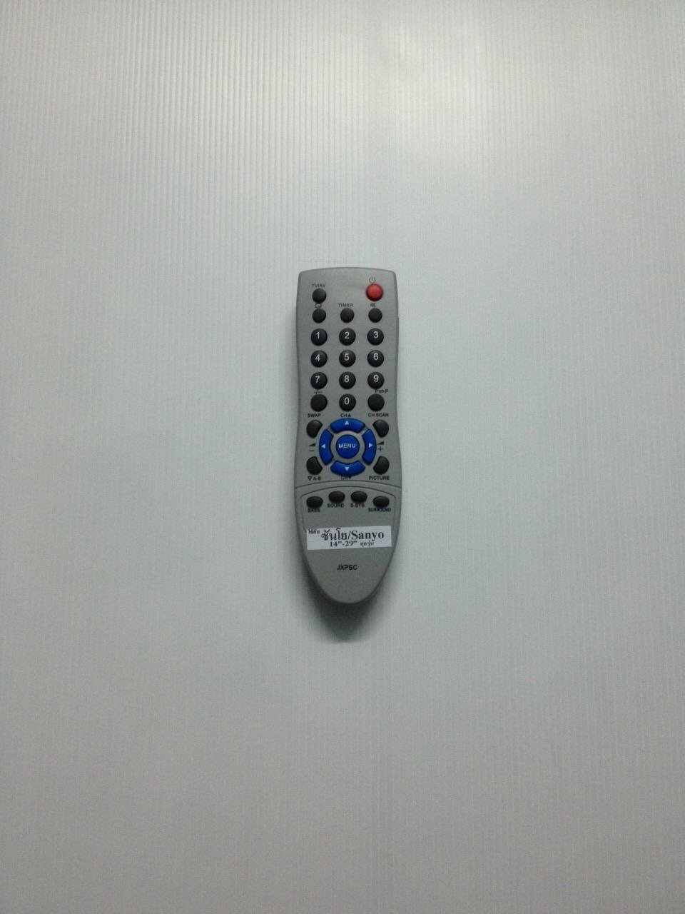รีโมททีวีซันโยจอแบน sanyo JXPSC