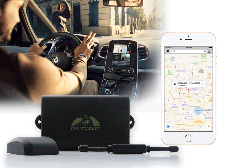 GPS tracker TK104 ติดตาม+ดักฟัง
