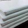 เบาะรองนั่งสมาธิสีขาวงานพรีเมี่ยม 60x60 cm หนา 1 นิ้ว หูหิ้ว