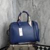 Berke หนังแต่งด้วยผ้าพันกระเป๋า-สีน้ำเงิน