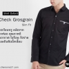 Mini Check Grosgrain Black