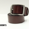 THE ROOM'S เข็มขัดหนัง Genuine leather (Dark brown)