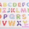 จิ๊กซอว์ไม้ ABC ( Wooden jigsaw puzzles ABC)