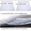 เบาะผ้ารองนั่งสมาธิ 65x65 cm หนา 1/2 นิ้ว (สีขาว)-สำหรับแม่ชี