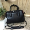 CHARLES & KEITH DOUBLE ZIP STRUCTURED BAG *ดำ