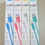 สายชาร์จ U-GEE series สำหรับ Samsung ยาว 1 เมตร