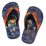 รองเท้าแตะเด็ก ไมล์ส ฟรอม ทูมอร์โรว์แลนด์ Miles from Tomorrowland Flip Flops for Kids