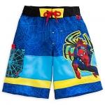 กางเกงว่ายน้ำเด็ก สไปเดอร์แมน Spider-Man Swim Trunks for Boys
