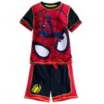 ชุดนอนเด็ก สไปเดอร์แมน Spider-Man Short Sleep Set for Boys