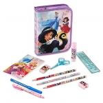 ชุดเครื่องเขียน ดีสนีย์ ปริ้นเซส Disney Princess Zip-Up Stationery Kit
