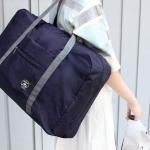 กระเป๋าพับเก็บได้ ใส่บนกระเป๋าล้อลาก สะพายไหล่ได้