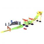 ชุดรถแข่ง ไลท์นิ่ง แม็คควีน Cars Neon Race-Off Track Set