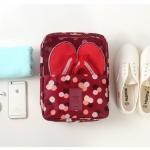 กระเป๋าใส่รองเท้าจัดระเบียบกระเป๋าเดินทาง