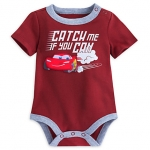 บอดี้สูท ไลท์นิ่ง แม็คควีน Lightning McQueen Disney Cuddly Bodysuit for Baby