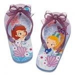 รองเท้าแตะเด็ก โซเฟีย Sofia the First Flip Flops for Kids