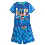 ชุดนอนเด็ก มิกกี้เมาส์ และเพื่อน Mickey Mouse and Friends Short Sleep Set for Boys