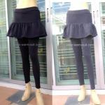 เลคกิ้งกางเกง+กป บุผ้าวุลด้านใน #2